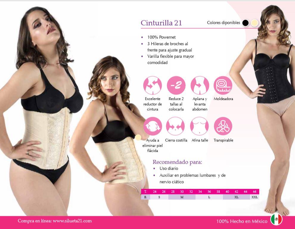 Faja Cinturilla Silueta 21 | Fajas Colombianas Para mujer en Las Vegas